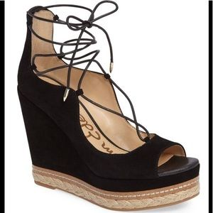 1bb992623b6 Sam Edelman Shoes - Sam Edelman Harriet-1 Espadrille Wedge Sandal Sz 6
